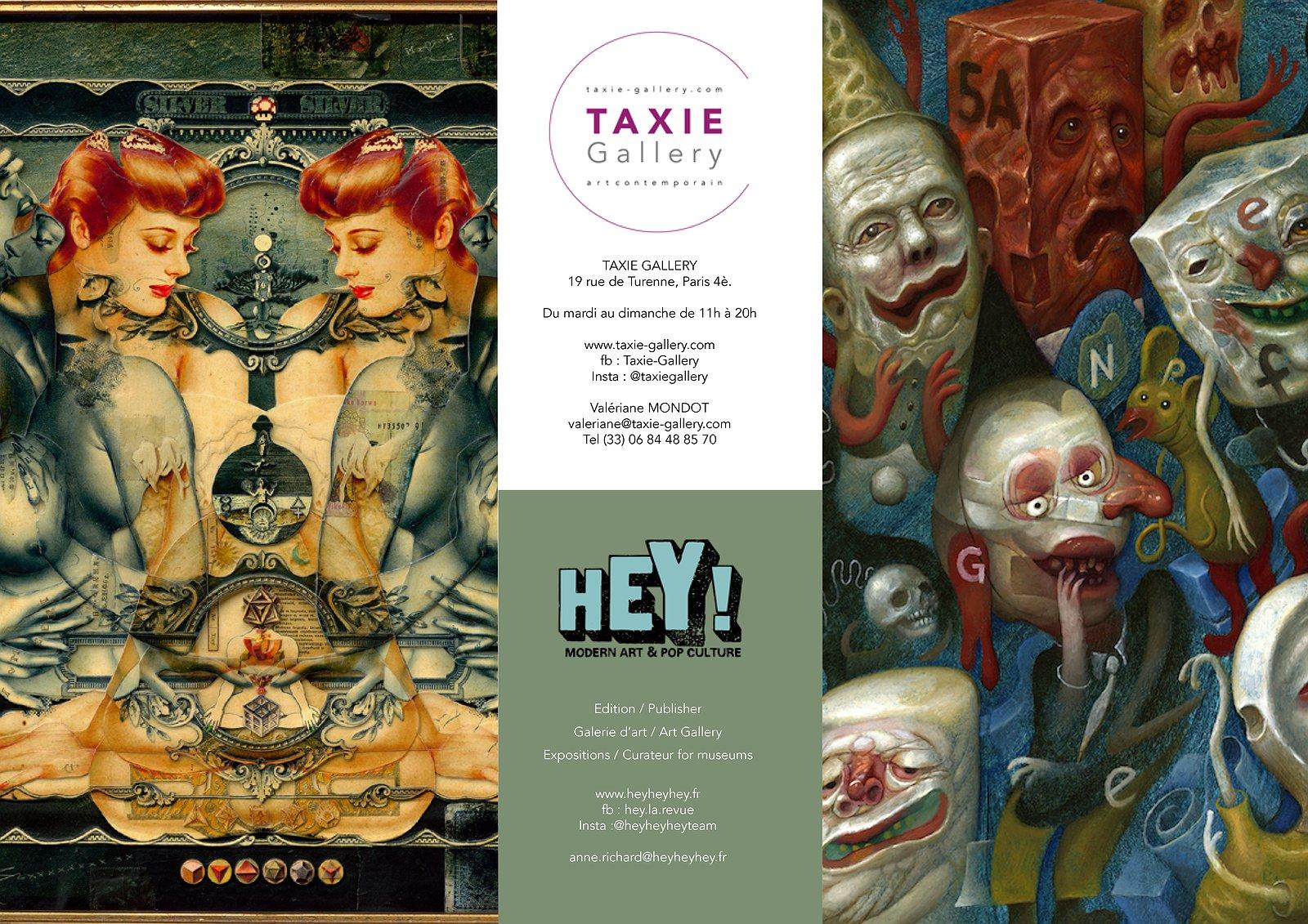 HEY! & Taxie Gallery présentent Handiedan & Chris Mars