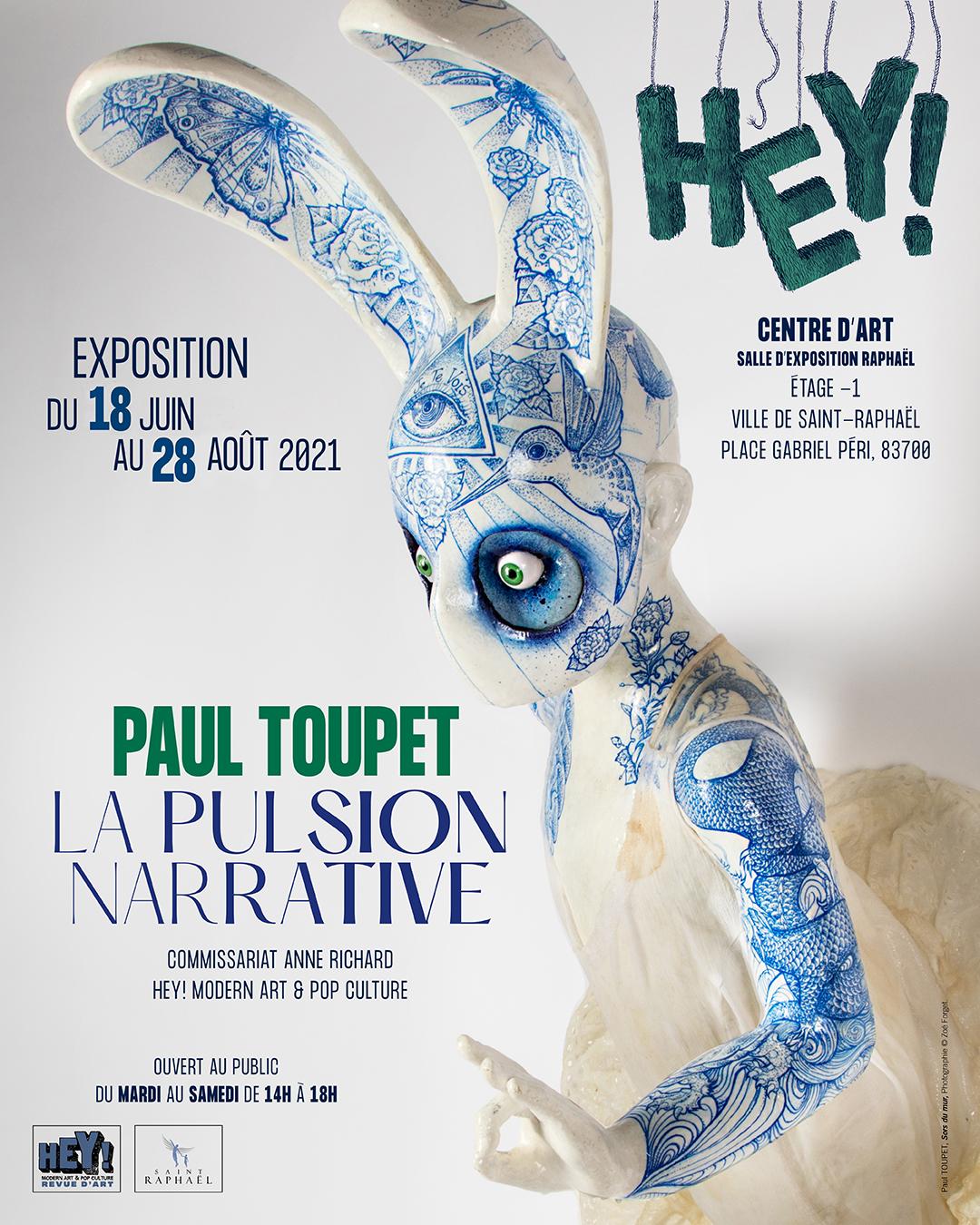 Paul Toupet La pulsion narrative