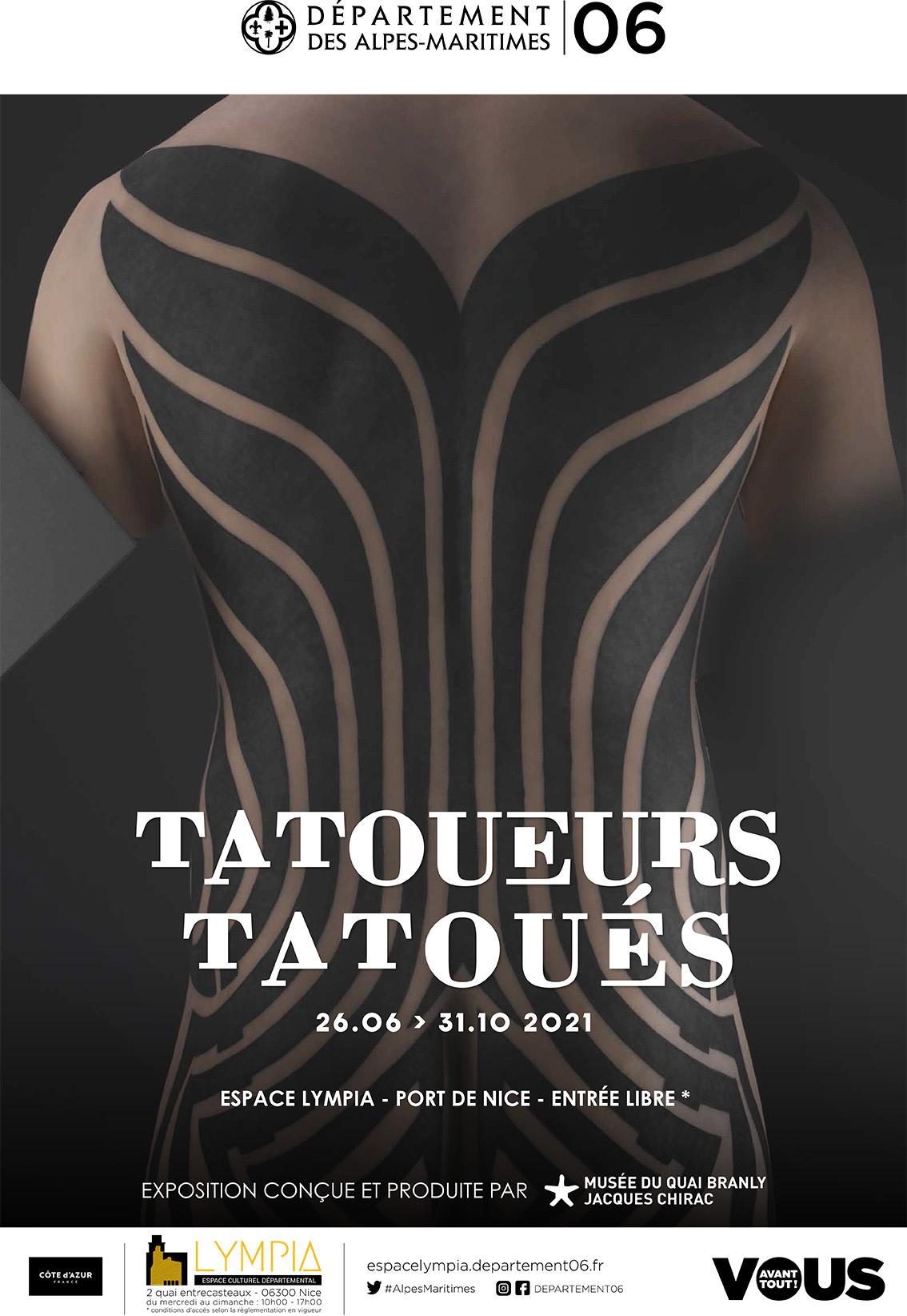 Tatoueurs, Tatoués / Nice
