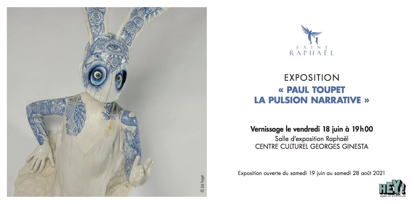 """Opening """"La Pulsion narrative"""" - Paul Toupet"""