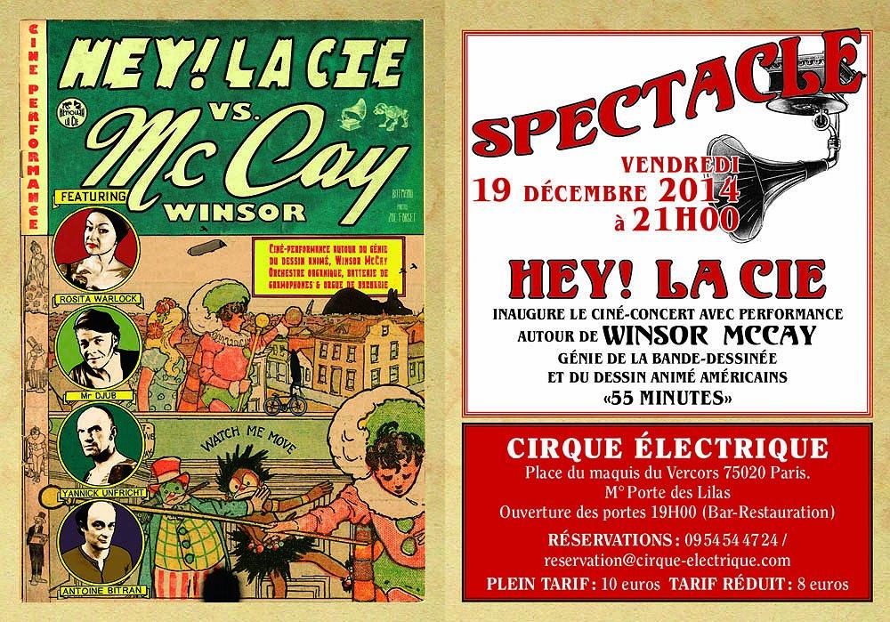 HEY! La Cie Vs Winsor McCay