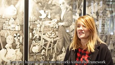 HEY! modern art & pop culture - ACT III : AMANDINE URRUTY (septembre 2015)