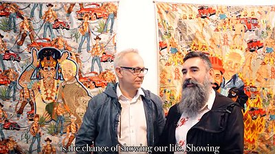HEY! modern art & pop culture - ACT III : LEO CHIACHIO & DANIEL GIANNONE (septembre 2015)